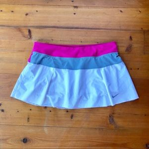 NIKE Skort Golf Tennis L Large 12 14  Shorts SKIRT